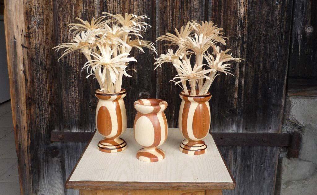 Schnitzereien Blumen